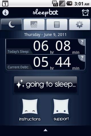 SleepBot - Sleep Cycle Alarm - Imagem 1 do software