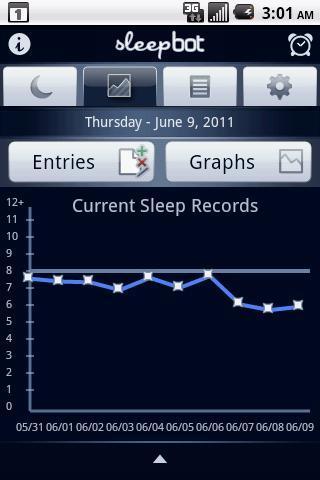 SleepBot - Sleep Cycle Alarm - Imagem 2 do software