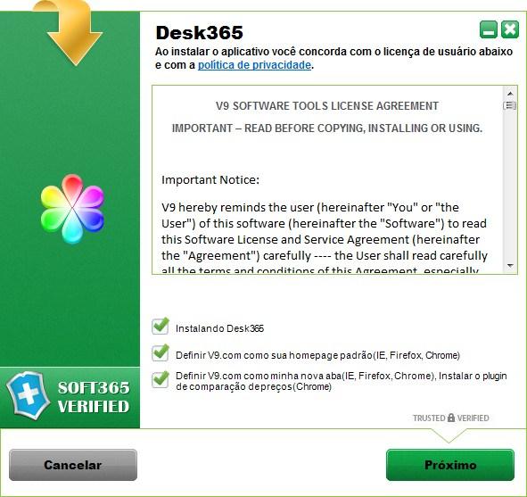 Desk 365 - Imagem 3 do software