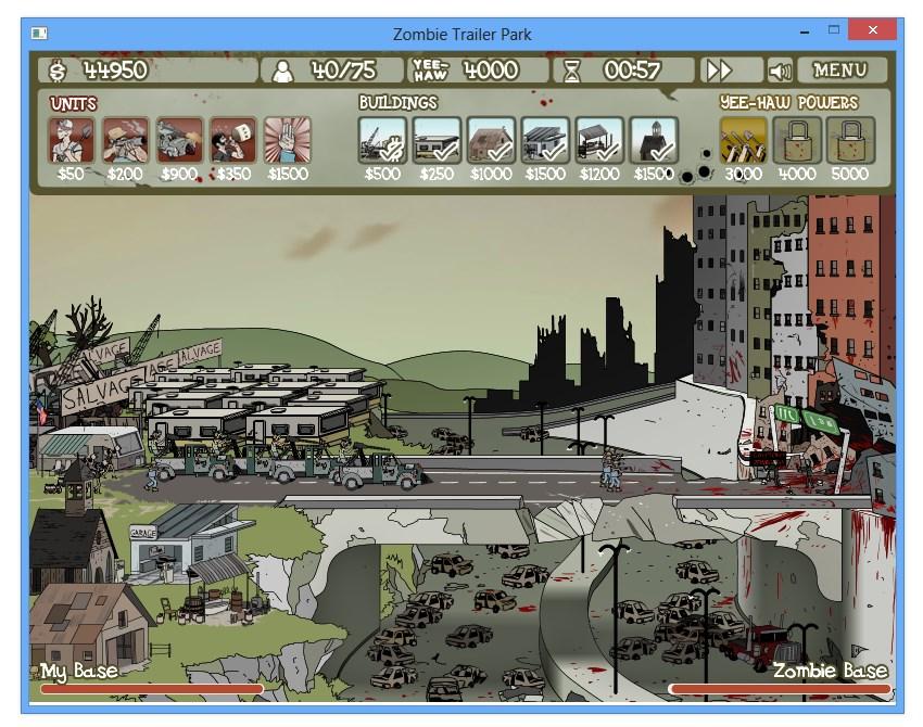 Zombie Trailer Park - Imagem 1 do software