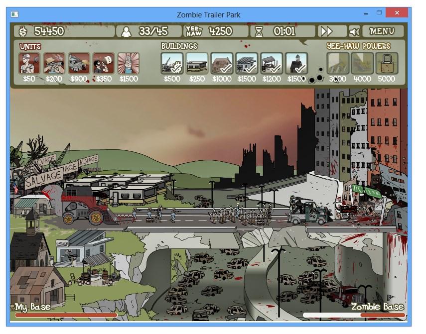 Zombie Trailer Park - Imagem 2 do software