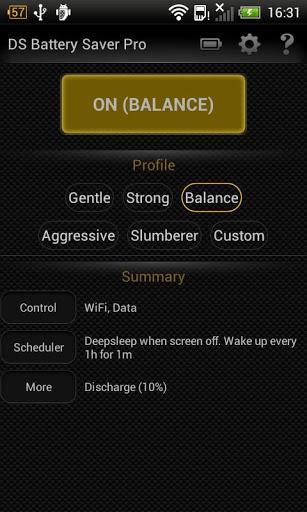 Deep Sleep Battery Saver - Imagem 1 do software