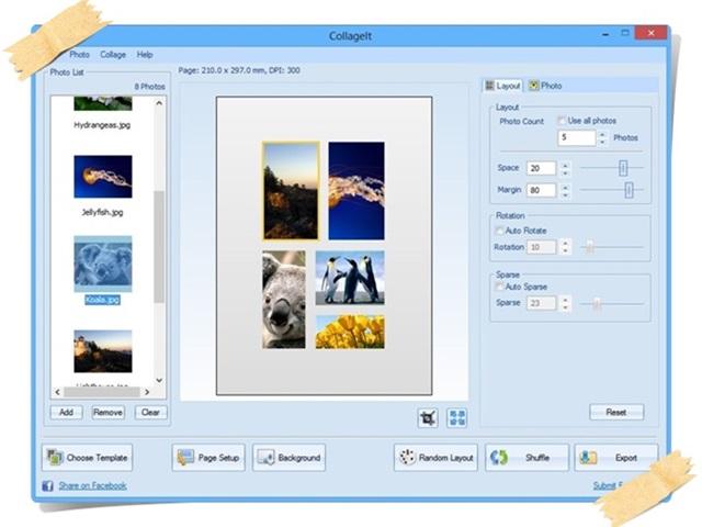 montagem de fotos no baixaki