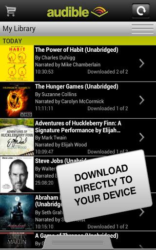Audible for Android - Imagem 2 do software