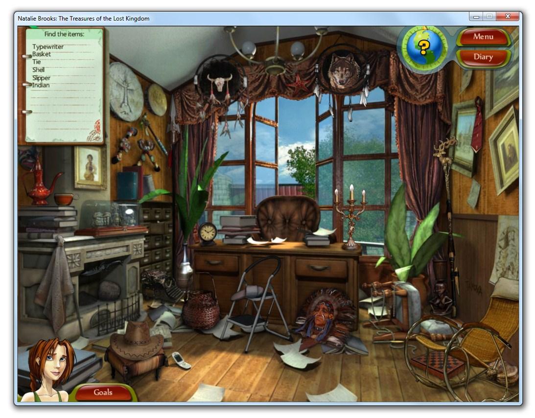 Natalie Brooks - The Trasures of The Lost Kingdom - Imagem 1 do software