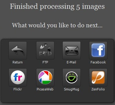 Envie seus arquivos para onde quiser.