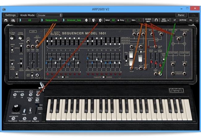 ARP2600 - Imagem 1 do software