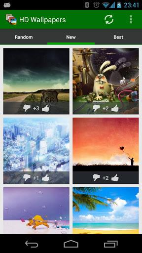 HD Wallpapers & Background - Imagem 1 do software