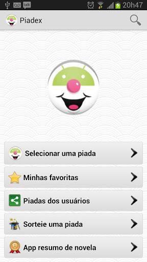 Piadex - Piadas engraçadas - Imagem 1 do software