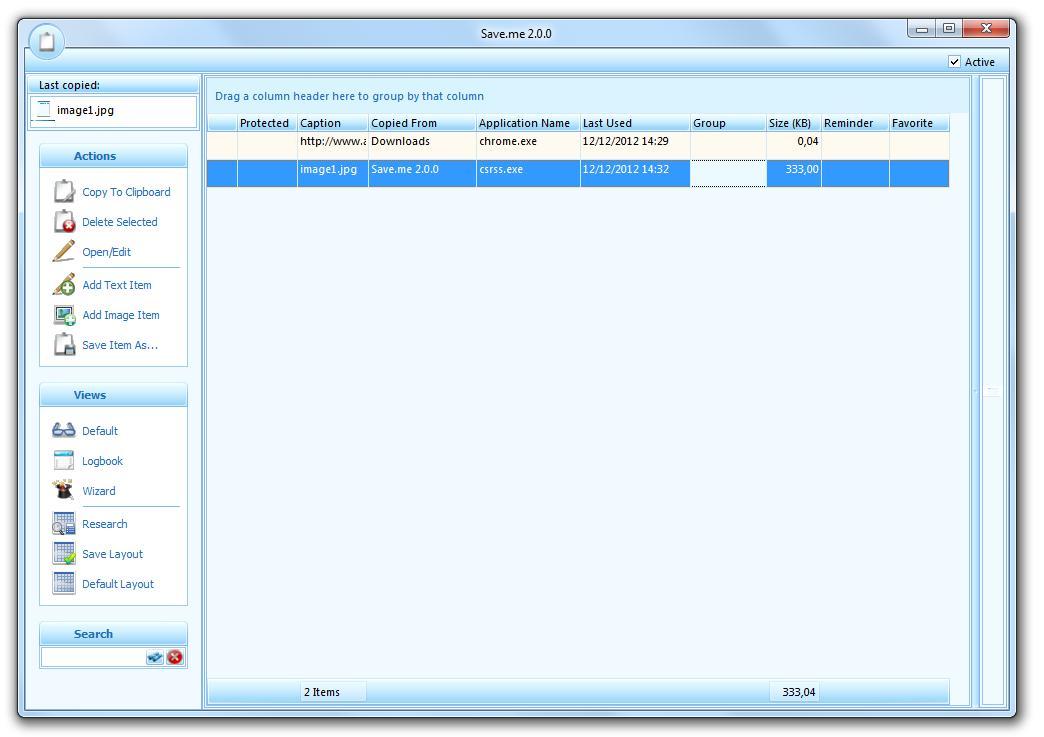 Save.me Aiclipboard - Imagem 1 do software