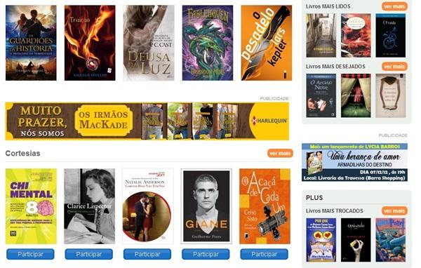 Escolha o que quer ler.