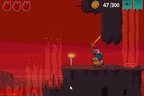 Use a espada para matar os inimigos