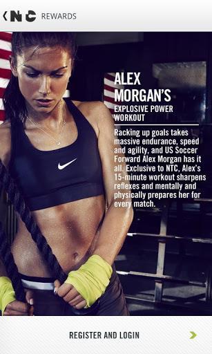 Nike Training Club - Imagem 1 do software