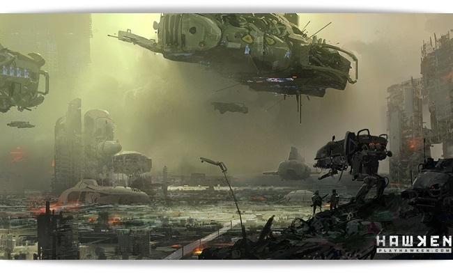 Cenários de devastação completa.