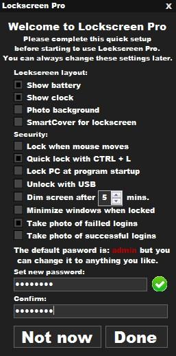 Lockscreen Pro - Imagem 2 do software