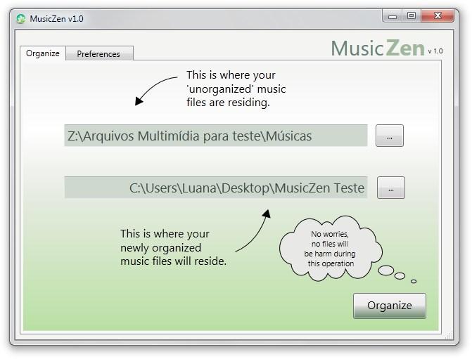 MusicZen - Imagem 1 do software