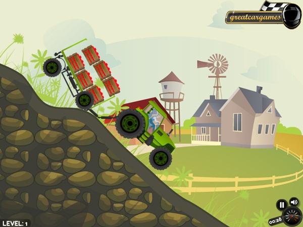 Farmer Ted`s Tractor Rush - Imagem 1 do software