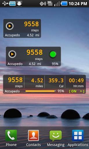 Accupedo Pedometer - Imagem 1 do software
