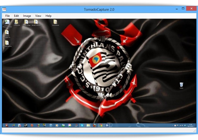 TornadoCapture - Imagem 1 do software