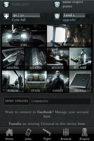 Crime Inc. - Imagem 1 do software