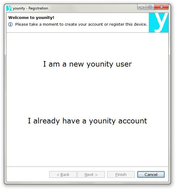 Younity - Imagem 1 do software