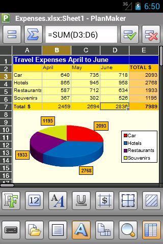 Office 2012: PlanMaker TRIAL - Imagem 2 do software