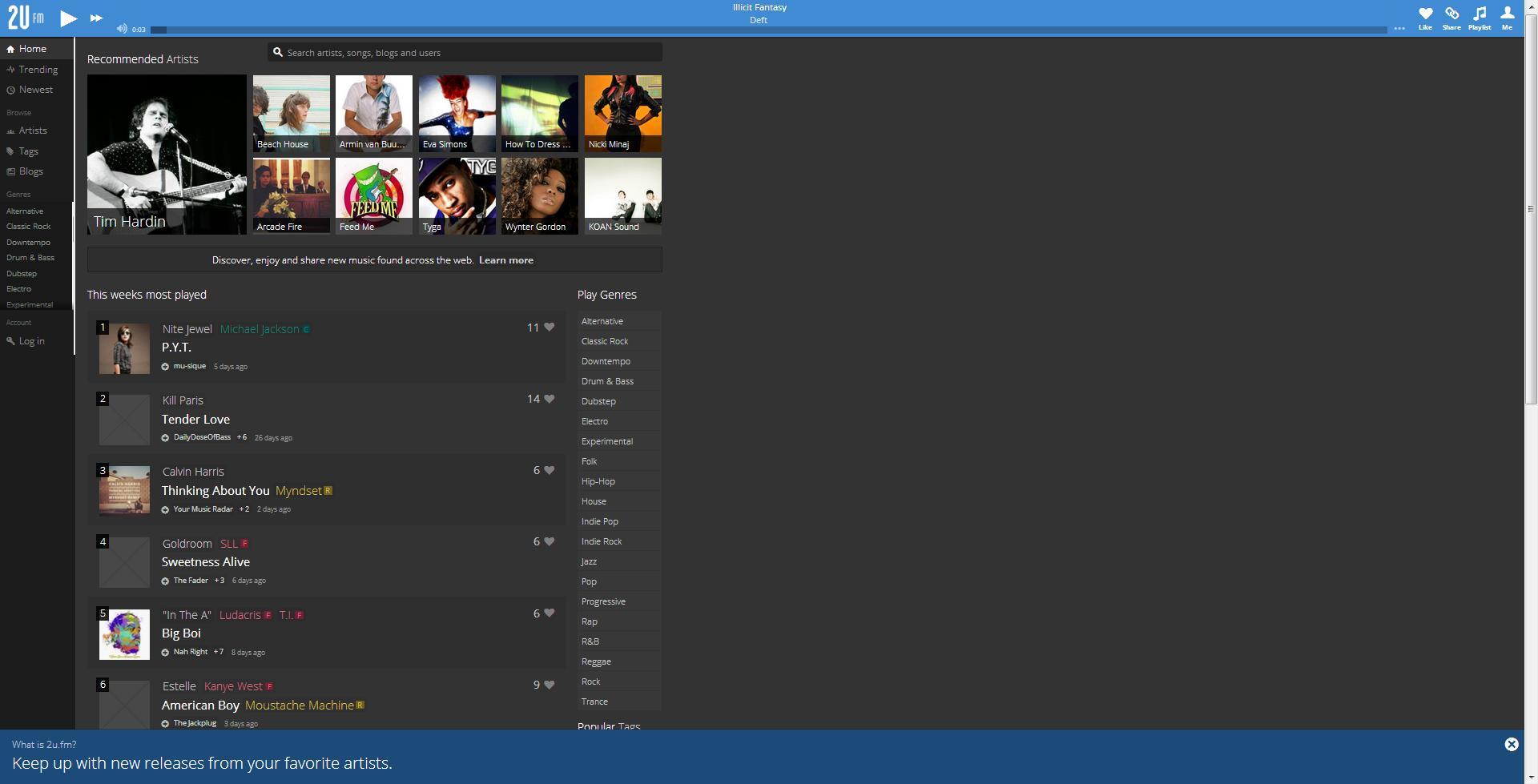 2U.fm - Imagem 1 do software