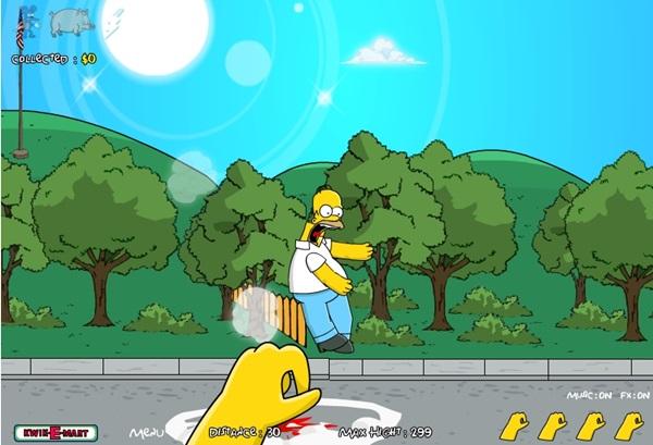 Mande o Homer para as estrelas