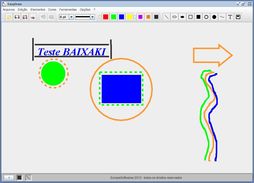 EasyDraw 2013 - Imagem 1 do software