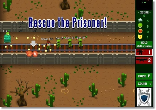 Pocket Platoon - Imagem 2 do software