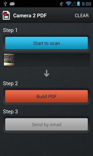 Camera 2 PDF - Imagem 2 do software