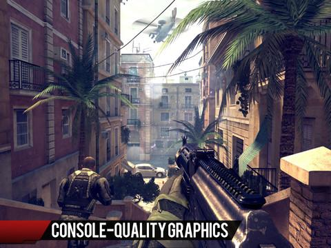 Modern Combat 4: Zero Hour - Imagem 1 do software