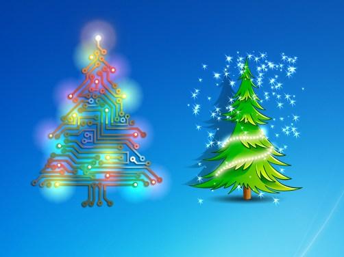 Animated Christmas Trees 2013.