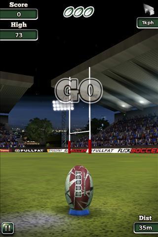 Flick Nations Rugby - Imagem 2 do software