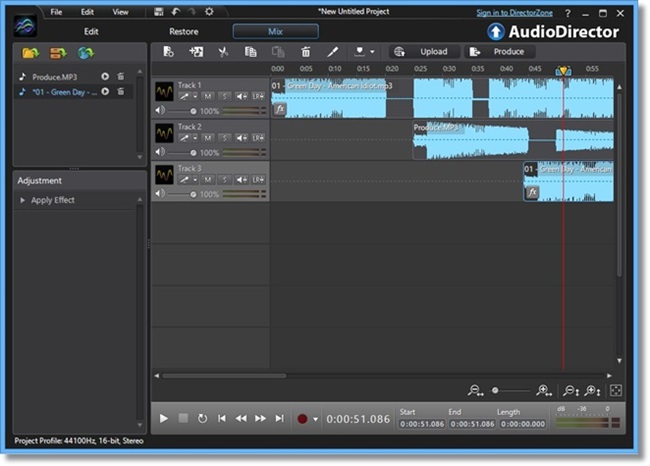 CyberLink AudioDirector - Imagem 2 do software