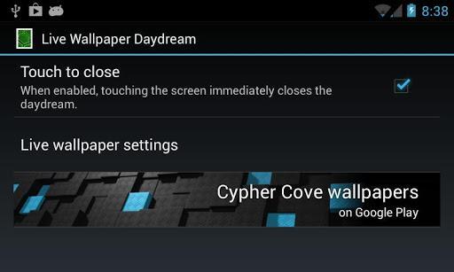 Live Wallpaper Daydream - Imagem 1 do software