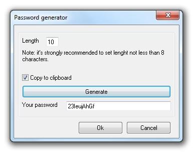 Bitobit Mithril Password Manager - Imagem 2 do software