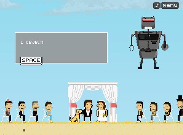 Raptada(o) por um robô espacial