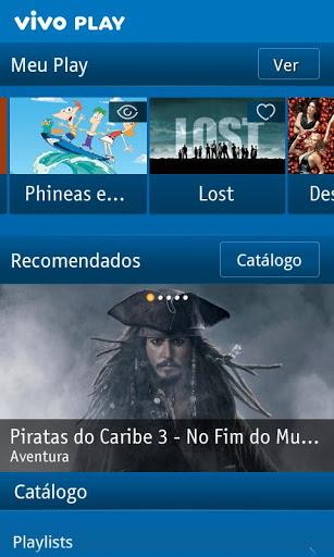 Vivo Play - Imagem 1 do software