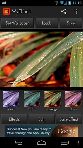MyEffects - Photo Editor - Imagem 1 do software