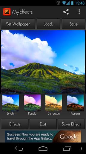 MyEffects - Photo Editor - Imagem 2 do software