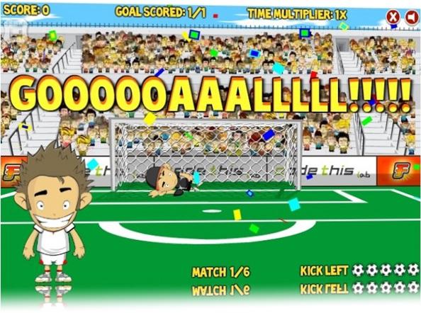 Marcando gol