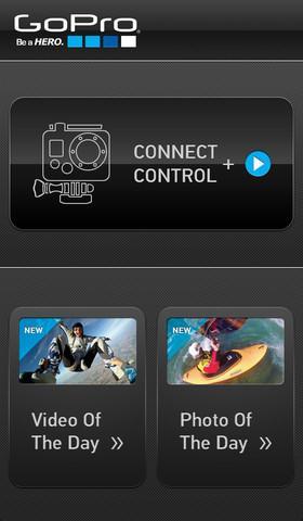 GoPro App - Imagem 1 do software
