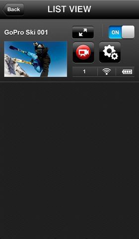 GoPro App - Imagem 2 do software