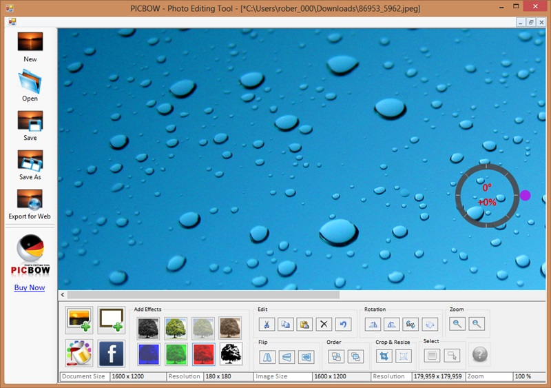 Picbow - Imagem 2 do software