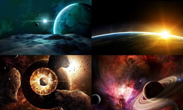 Escolha seu planeta favorito para enfeitar a tela.