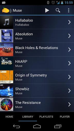 Subsonic Music Streamer - Imagem 2 do software