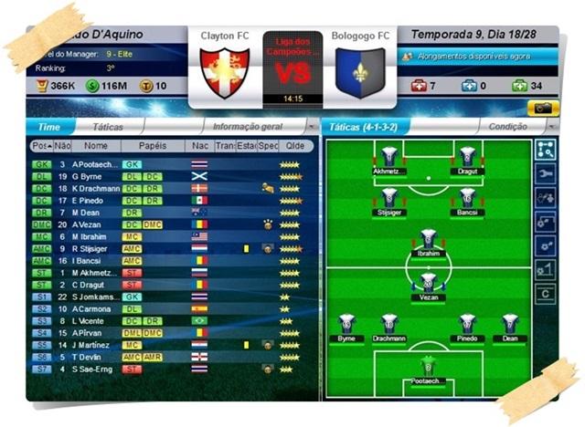 Top Eleven – Be a Football Manager - Imagem 2 do software