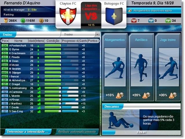 Top Eleven – Be a Football Manager - Imagem 3 do software