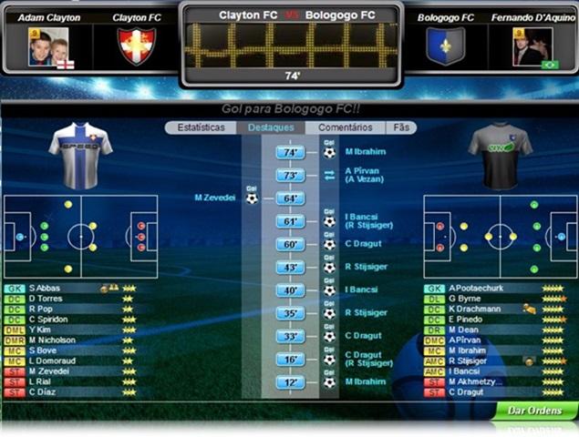 Top Eleven – Be a Football Manager - Imagem 5 do software